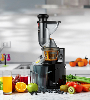 Review of Aicok Masticating Slow Juicer 3 Big Mouth Whole