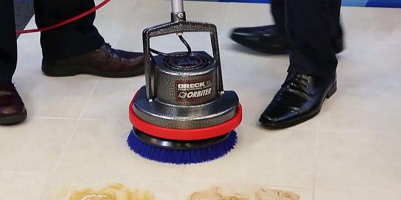 Review of Oreck Commercial ORB550MC Orbiter Floor Machine