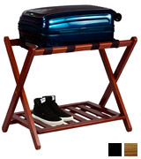 Casual Home 102-23 Luggage Rack with Shelf