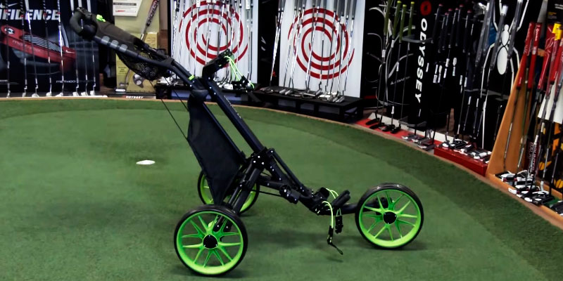 Review of CaddyTek EZ-Fold 3 Wheel Golf Push Cart