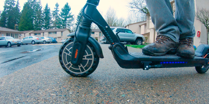 Hiboy S2 Electric Scooter in the use