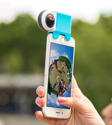 Review of Giroptic iO HD 360 360 degree camera for iPhone/iPad