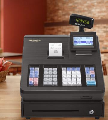 Review of Sharp XEA207 Menu Based Control System Cash Register