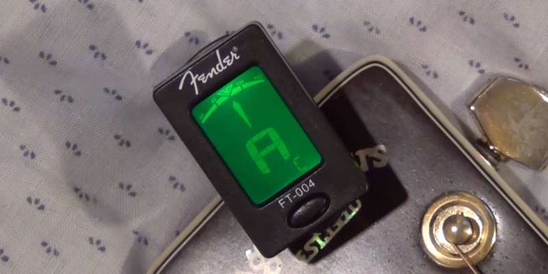 Review of Fender FT-004 Clip-On Tuner