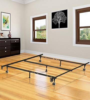 Review of Kings Brand Furniture B9003 Adjustable Metal Bed Frame