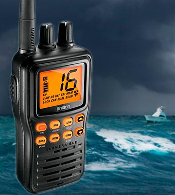 Review of Uniden MHS75 Submersible Handheld Two-Way Radio