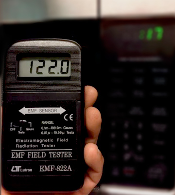 Review of Lutron 822-A Digital EMF Meter