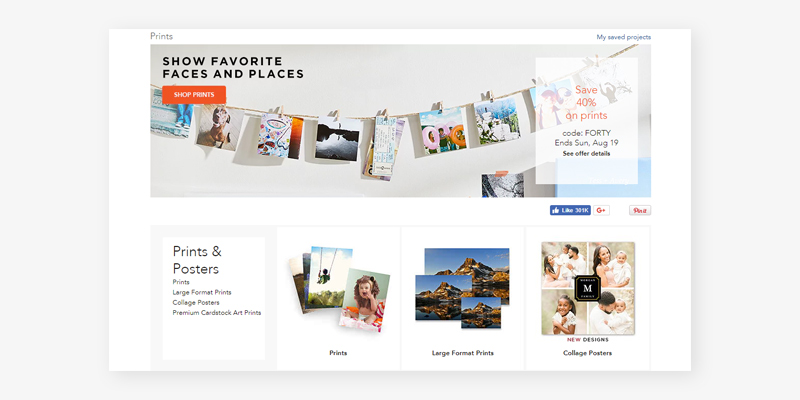 Shutterfly Personalized Photo Cards and Stationery in the use