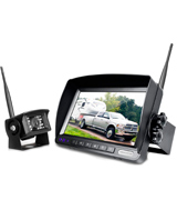 ZEROXCLUB W01 Digital Wireless Backup Camera System Kit (IP69, 7'' Wireless LCD Monitor )