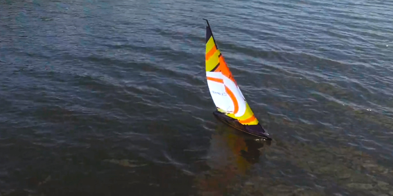 Detailed review of Rage RC B1300 Eclipse 1M Ready to Run Sailboat