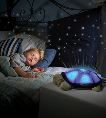 Review of Cloud b Constellation Night Light Twilight Turtle