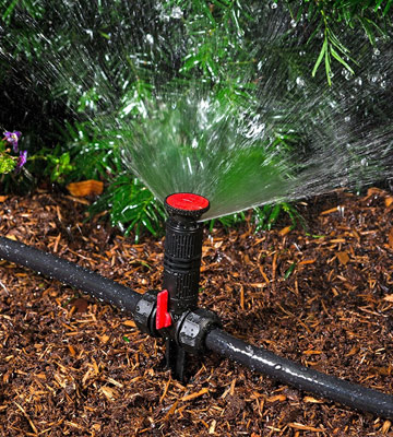 Review of Gardener's Supply Company Snip-n-Spray Garden and Landscape Sprinkler System