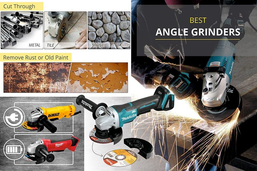 Comparison of Angle Grinders for Small Projects and Heavy-Duty Use