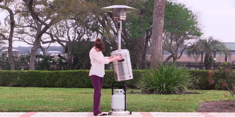 Review of AmazonBasics 61825 Commercial Outdoor Patio Heater
