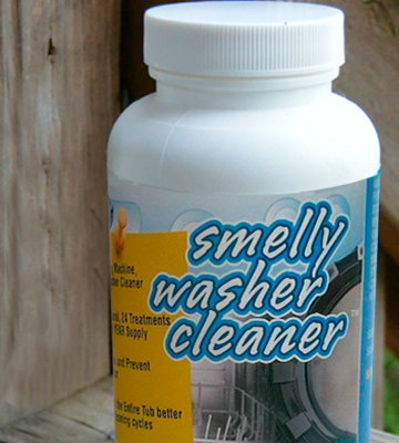 Review of Smelly Washer Inc. Washing Machine Cleaner