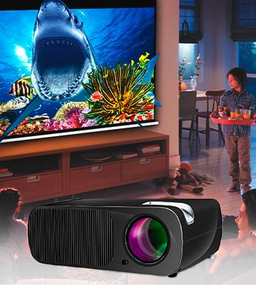 Review of Roadwi BL-WB HD Projector
