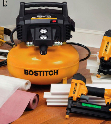 Review of BOSTITCH BTFP02012 6-Gallon 150 PSI Pancake Compressor