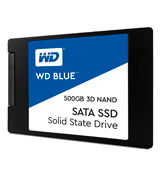 Western Digital Blue 3D NAND SATA III 3D NAND SSD - 2.5 Solid State Drive
