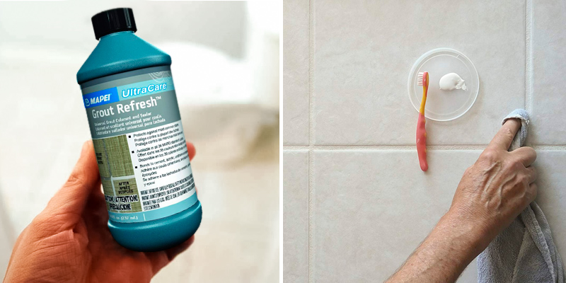 Review of Mapei UltraCare Grout Refresh