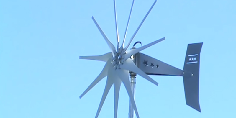 Review of Missouri Raider 1600W 11-Blade Wind Turbine