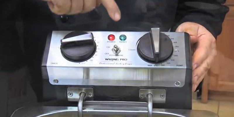 Detailed review of Waring Pro TF200B Rotisserie Turkey Fryer