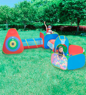 Review of Hide N Side 5pc Kids Ball Pit Tents and Tunnels