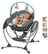 Graco LX Gliding  Baby Newborn Toddler Swing
