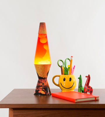 Review of Schylling 2149 Lava the Original Colormax Lamp with Volcano Decal Base