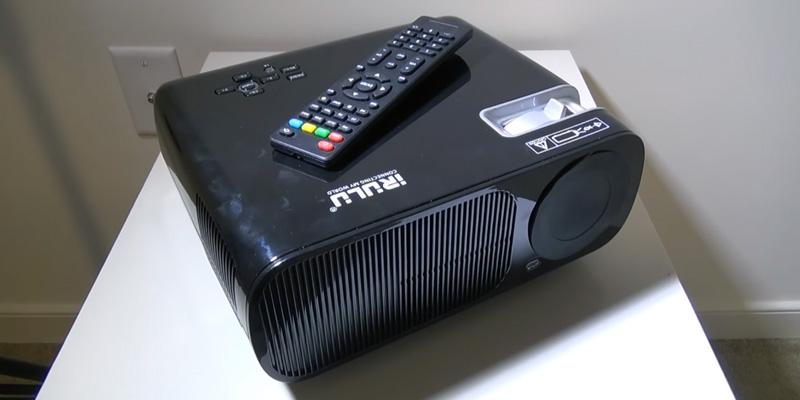 Review of iRULU BL20 Video HD Projector