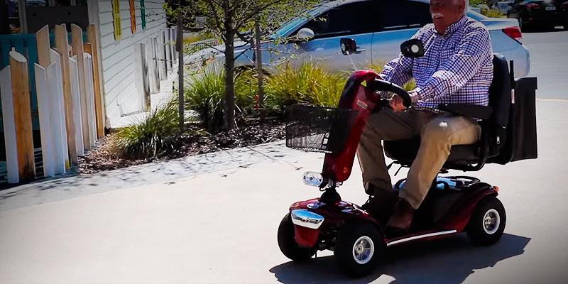 Review of Shoprider Sunrunner Four Wheel Personal Travel