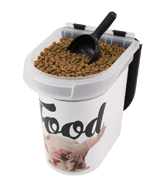 Paw Prints 37716 Pet Airtight Food Storage Container