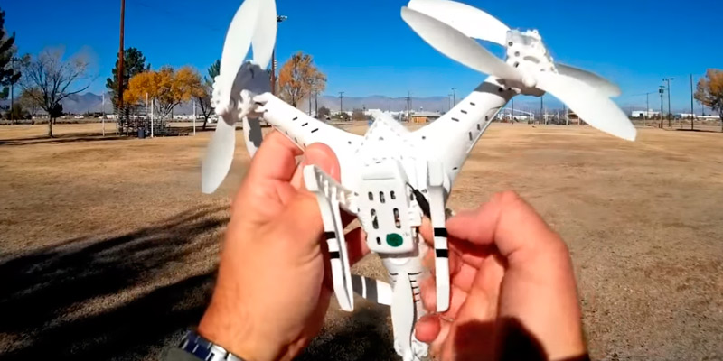 DK CX-33S RC Tricopter in the use