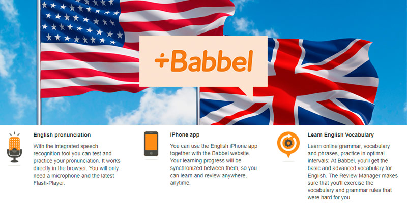 Review of Babbel Learn English Online