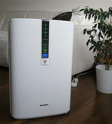 Review of Sharp KC-850U Air Purifier with Humidifying Function