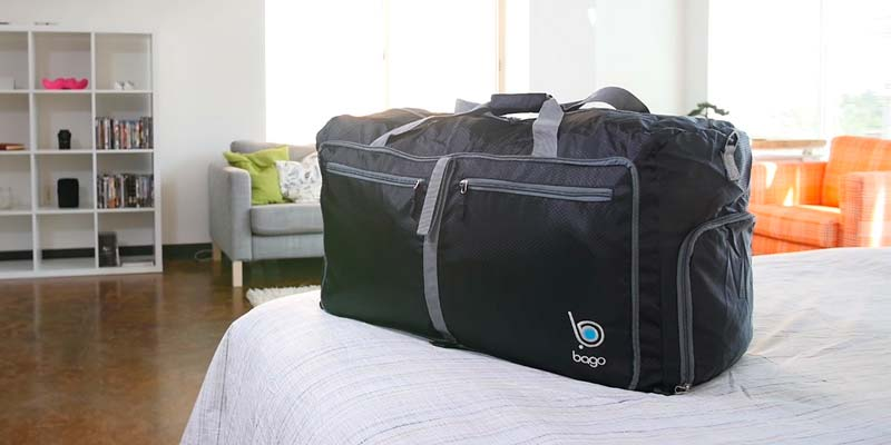 Review of Bago Travel Duffle Bag for Gym Gear