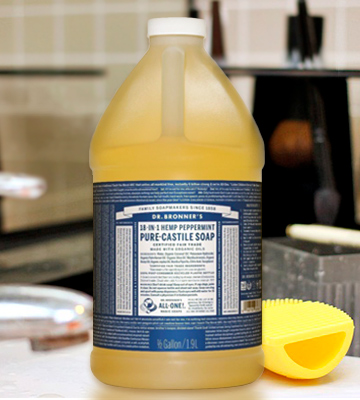 Review of Dr. Bronner's Peppermint Pure-Castile Liquid Soap