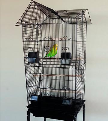 Review of Mcage Large Canary Parakeet Safe Epoxy Coated Finish