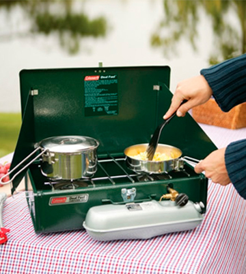 Review of Coleman Powerhouse Dual Fuel Stove