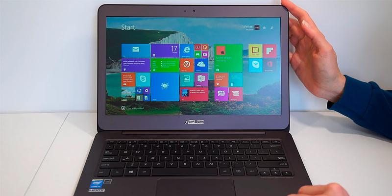 ASUS UX330UA Ultra Thin in the use
