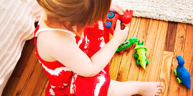 Detailed review of 3 Bees and Me Dinosaur Toys for Boys and Girls Toddlers