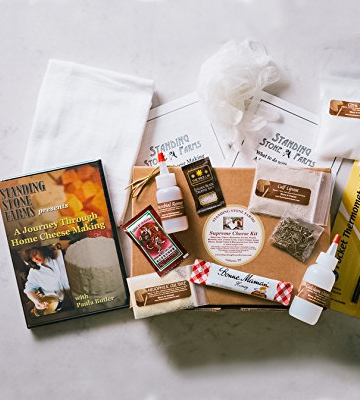 Review of Standing Stone Farms Complete Cheese Making Kit - Equipment & Ingredients +DVD