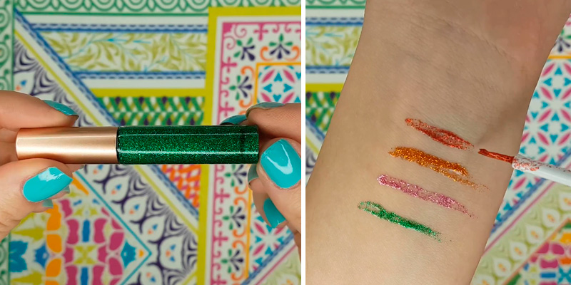 Review of Bestland Liquid Glitter Eyeliner 10 Colors