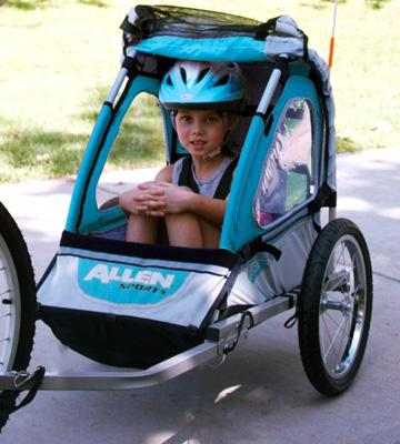 Review of Allen Sports Child Jogger Trailer