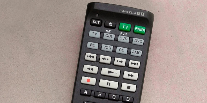 Review of Sony RM-VLZ620 Universal Remote Control
