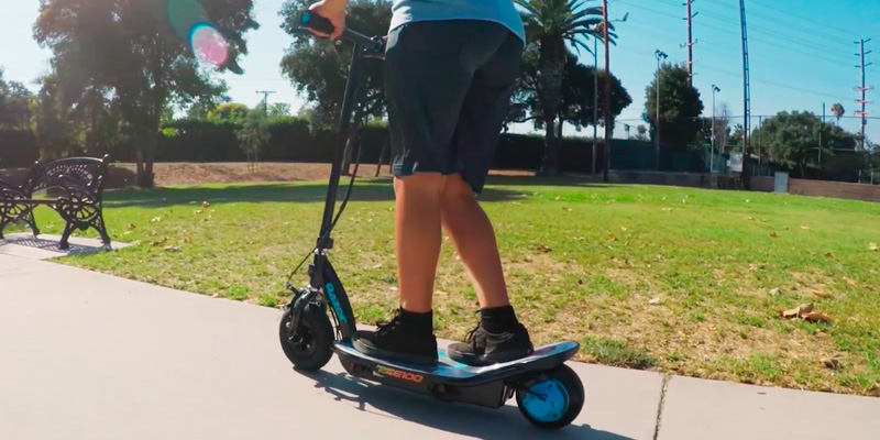 Review of Razor E100 Electric Scooter