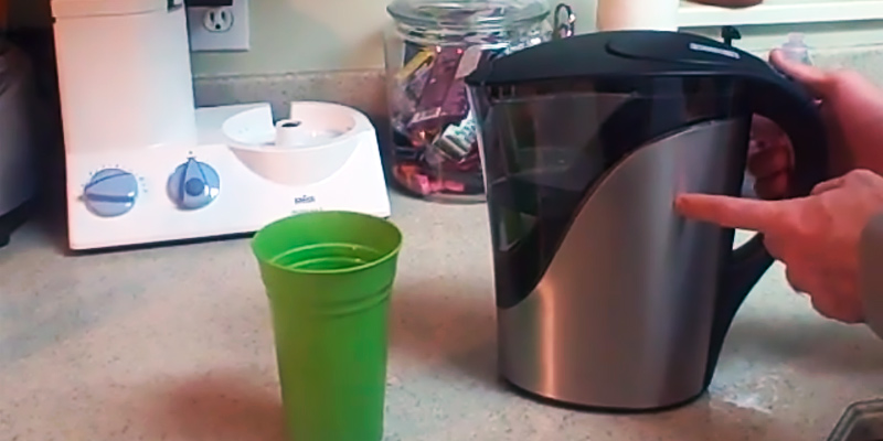 Review of Brita Stainless Steel BPA Free Water Pitcher