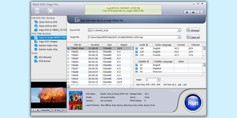 Detailed review of Digiarty WinX DVD Copy Pro Burner + Backup Software