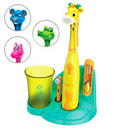 Brusheez Jovie the Giraffe Children's Electronic Toothbrush Set