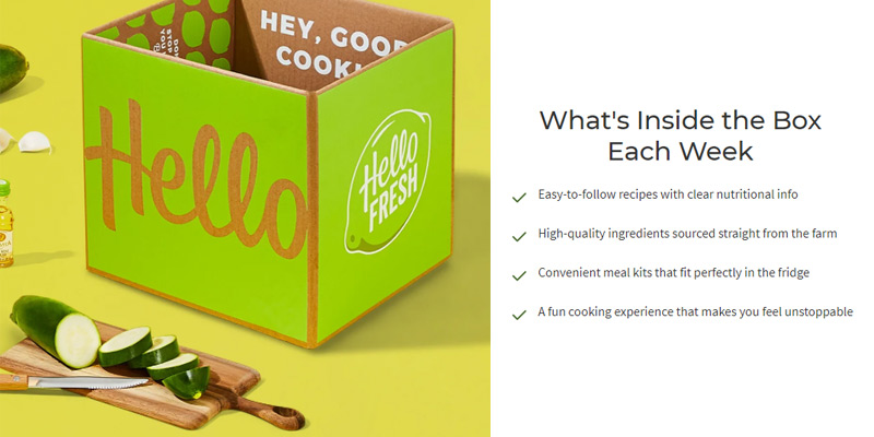 Detailed review of HelloFresh Healthy Meal Delivery Service