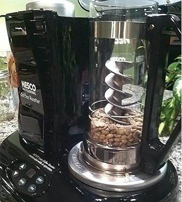 Review of Nesco CR-1010-PR Green Coffee Bean Roaster Home